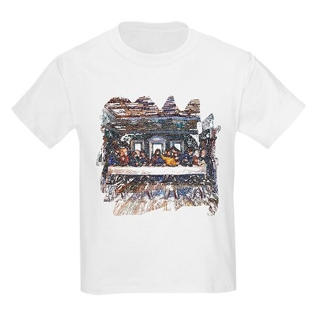 Lord's Last Supper Kids Light T-Shirt