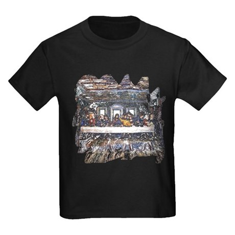 Lord's Last Supper Kids Dark T-Shirt