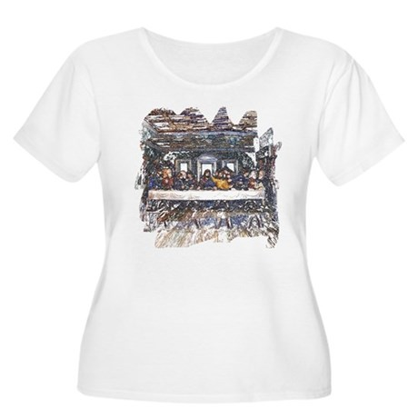 Lord's Last Supper Women's Plus Size Scoop Neck T-