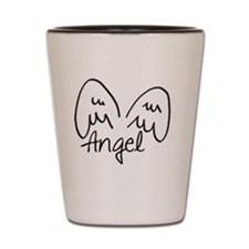Angel with Wings Design Shot Glass