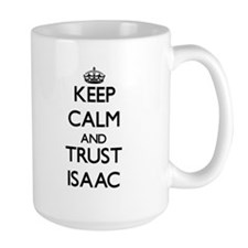 Keep Calm and TRUST Isaac Mugs