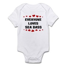 Loves: Sea Bass Infant Bodysuit