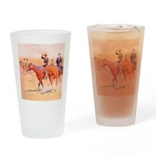 Old West Cavalry Drinking Glass