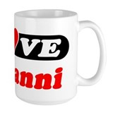 I Love Giovanni Coffee Mug