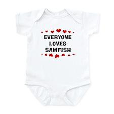 Loves: Sawfish Infant Bodysuit