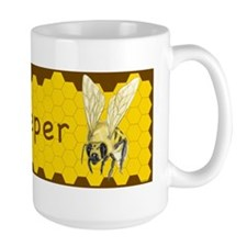 BUMPER STICKER-Bee Keeper Mug