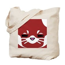Red Panda sleepy face Tote Bag