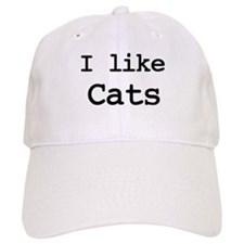 I like Cats Baseball Cap