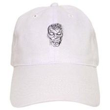 Zombie Death Head Baseball Cap