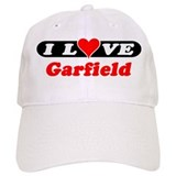 I Love Garfield Baseball Cap