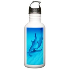 Atlantic spotted dolph Water Bottle