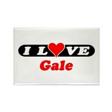 I Love Gale Rectangle Magnet (100 pack)
