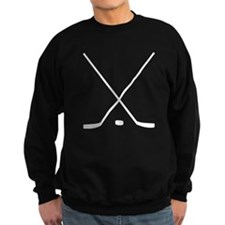 Hockey Sticks And Puck Jumper Sweater