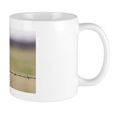 Western Meadowlark on Metal Post Mug