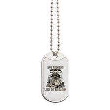 Blower11-Blown-Distressed.Png Dog Tags