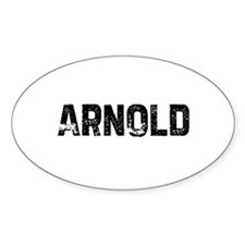 Arnold Oval Decal