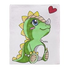 Dragon Love Throw Blanket