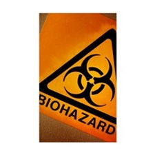 Biohazard symbol Decal