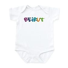 Beirut Graffiti Infant Bodysuit