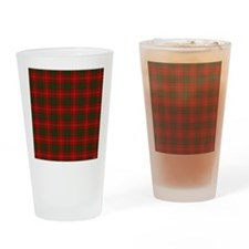 MacGregor Tartan Drinking Glass