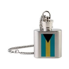 Bahamas iPhone 5 case Flask Necklace