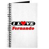 I Love Fernando Journal