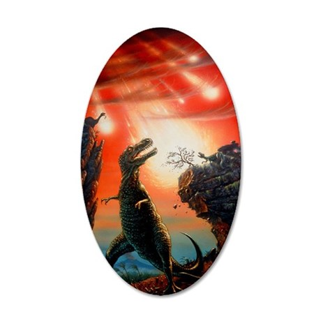 Artist's impression of Tyran 35x21 Oval Wall Decal