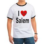 I Love Salem (Front) Ringer T