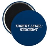 "Threat Level: Midnight 2.25"" Magnet (10 pack)"