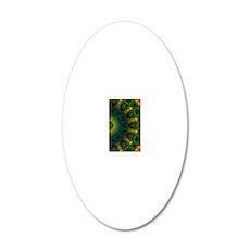 Passion Art Mandala 9 20x12 Oval Wall Decal