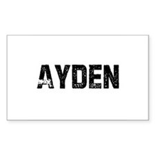 Ayden Rectangle Decal