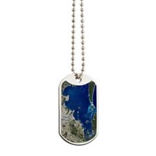 Brisbane, Australia, satellite image Dog Tags