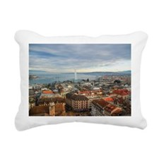 Jet d'Eau Rectangular Canvas Pillow