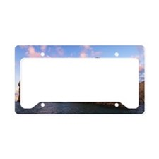 Rock Formation License Plate Holder