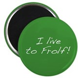 "Frolf 2.25"" Magnet (10 pack)"