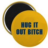 "Hug It Out 2.25"" Magnet (100 pack)"