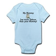 My Mommy has more tattoos Infant Bodysuit