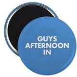 "Guys Afternoon In 2.25"" Magnet (10 pack)"