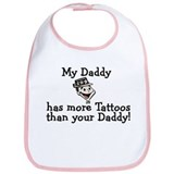 My Daddy has more tattoos Bib