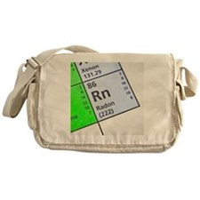 Radon on periodic table Messenger Bag
