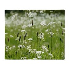 Meadow Grasses Throw Blanket