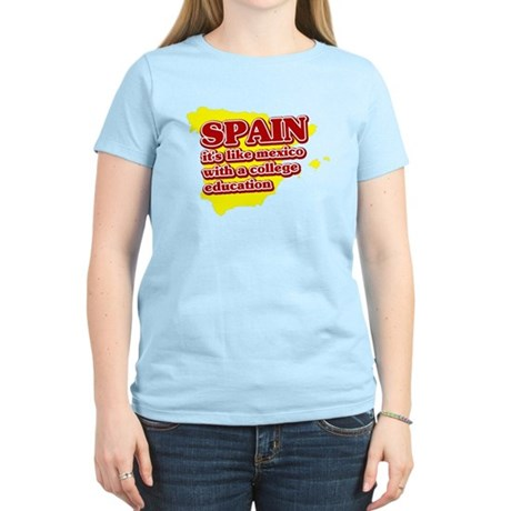 Spain Like Mexico Women's Light T-Shirt
