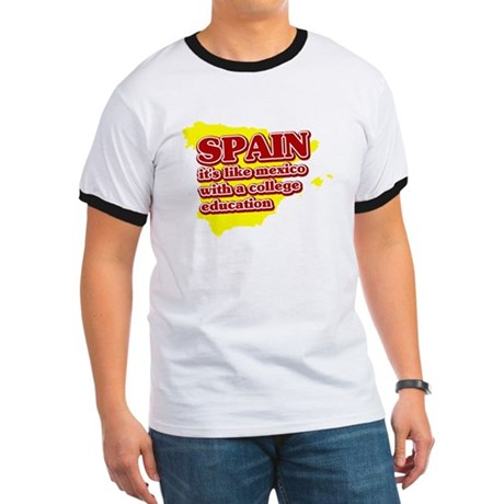 Spain Like Mexico Ringer T