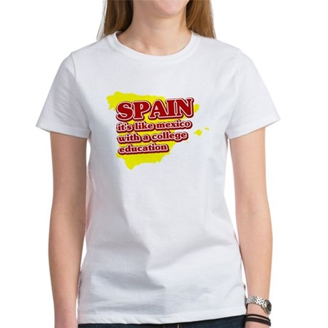 Spain Like Mexico Women's T-Shirt