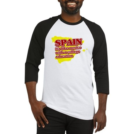 Spain Like Mexico Baseball Jersey