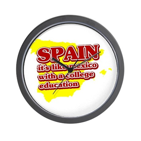 Spain Like Mexico Wall Clock