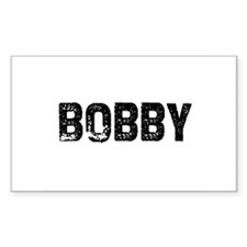 Bobby Rectangle Decal