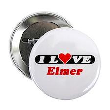 "I Love Elmer 2.25"" Button (100 pack)"