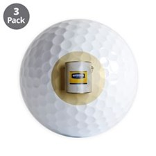 Mayonnaise in paint tub Golf Ball