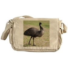 Emu goes walkabout Messenger Bag